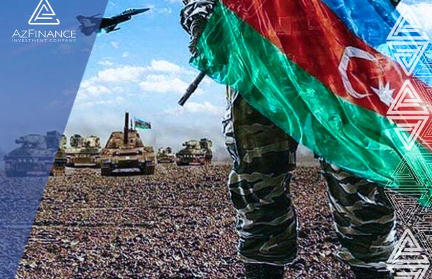 """""""Əsgərlərimizlə qürür duyuruq""""! AzFinance İnvestisiya şirkəti Azərbaycan Ordusunu dəstəkləyir."""